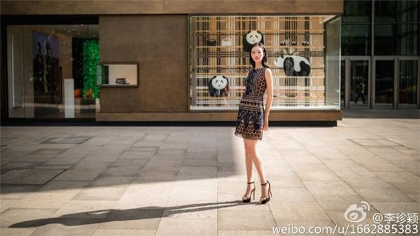 Lí Trân Dĩnhhiện tại đang theo học tại Đại học văn hóa Bắc Kinh và là người mẫuchụp hình cho những nhãn hàng thời trang.