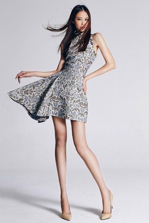 Cận cảnh nhan sắc già nua kém xinh của Tân Hoa hậu Hoàn vũ Trung Quốc