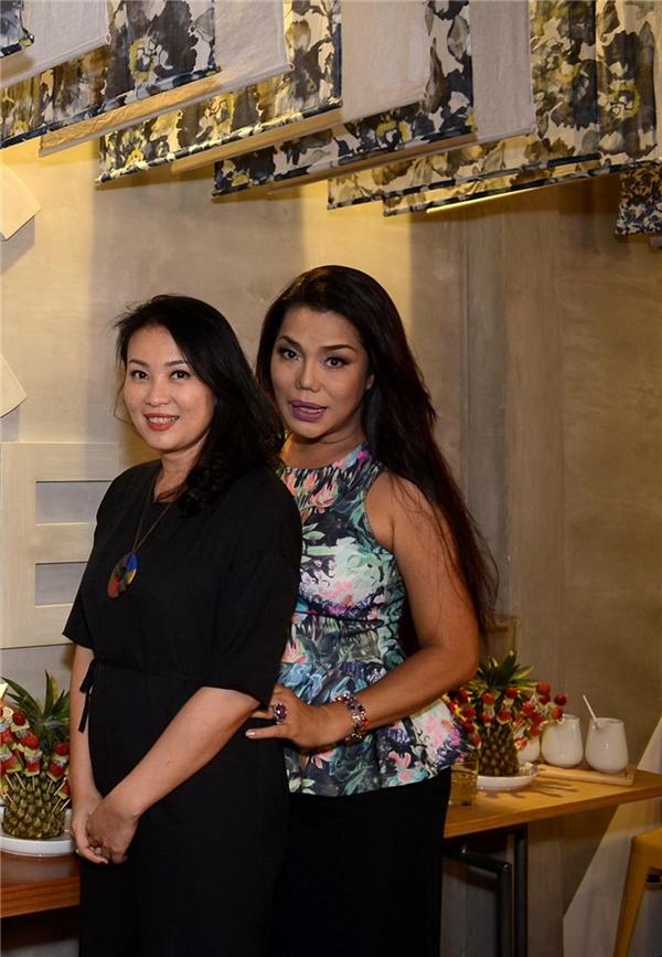 Tăng Thanh Hà vác bụng bầu đến chia vui cùng cựu người mẫu Minh Anh - Tin sao Viet - Tin tuc sao Viet - Scandal sao Viet - Tin tuc cua Sao - Tin cua Sao