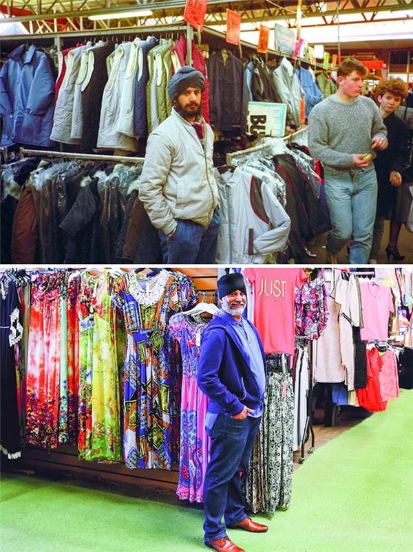 """Ngày xưa chú ấy bán toàn áo gió, áo lạnh các thể loại, nay thì đã """"màu mè hoa lá hẹ"""" hơn nhiều lắm."""