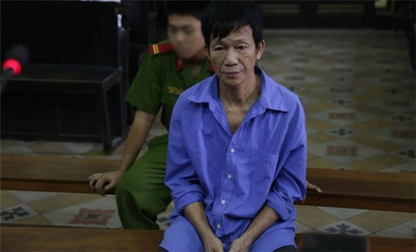 Ông Nam tại phiên tòa sáng này 15/11. (Ảnh: Internet)