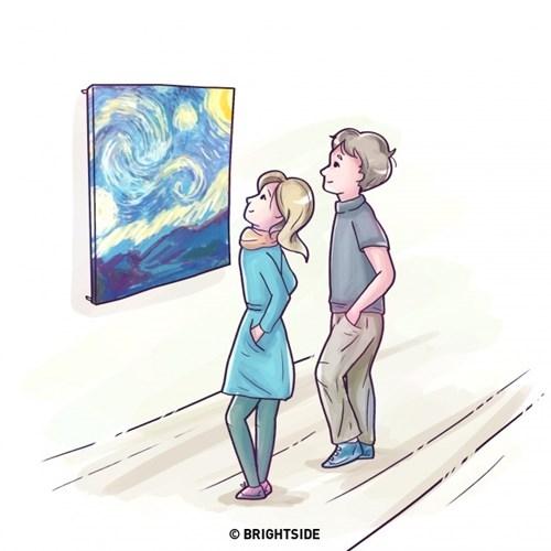 Khi cảm mến một ai đó các anh chàng thường sẽ cố gắng tìm hiểu về bạn và muốn gần gũi với bạn nhiều hơn, từ đó sẽ vô thức lặp lại những hành động giống với bạn như dáng đứng, cách nghiêng đầu, cách đặt tay...