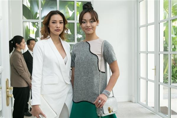 Mai Ngô và Lilly Nguyễn xuất hiện khá muộn trong ngày vui của Lan Khuê.
