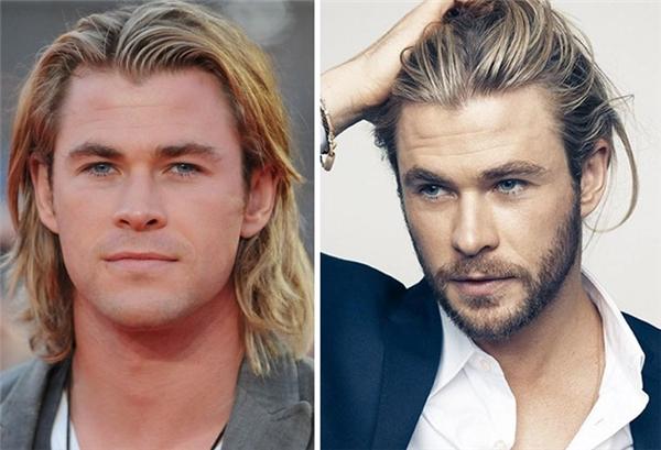 """Ngay cả những diễn viên nổi tiếng cũng hưởng ứng""""No Shave November"""".Chris Hemsworthtrông rất nam tính khi để râu tháng 11. (Ảnh: Boredpanda)"""