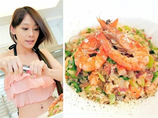 Xinh đẹp, giỏi giang, nấu ăn ngon,Ta Tathu hút đông đảo sự quan tâm của netizen xứ Đài cũng như Đại Lục.