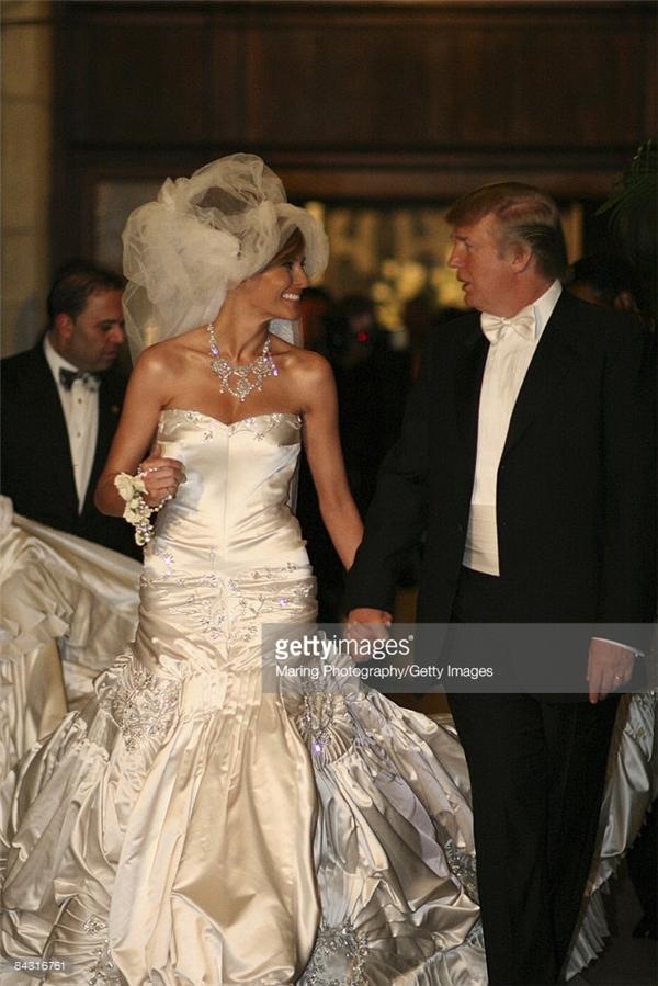 Choáng ngợp với đám cưới siêu xa hoa của tân Tổng thống Donald Trump