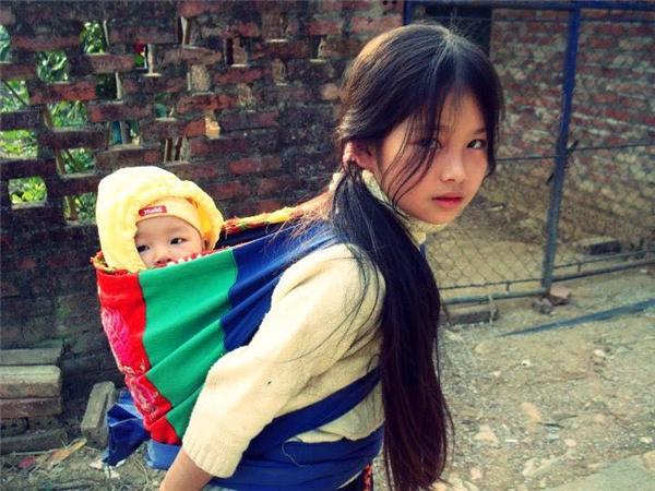 """Đây là bức ảnh """"Em bé Pắc Pó""""của tác giảVũ Quang Hưngđã xuất sắc dành giải nhất trong một cuộc thi ảnh năm 2008. (Ảnh: Vũ Quang Hưng)"""