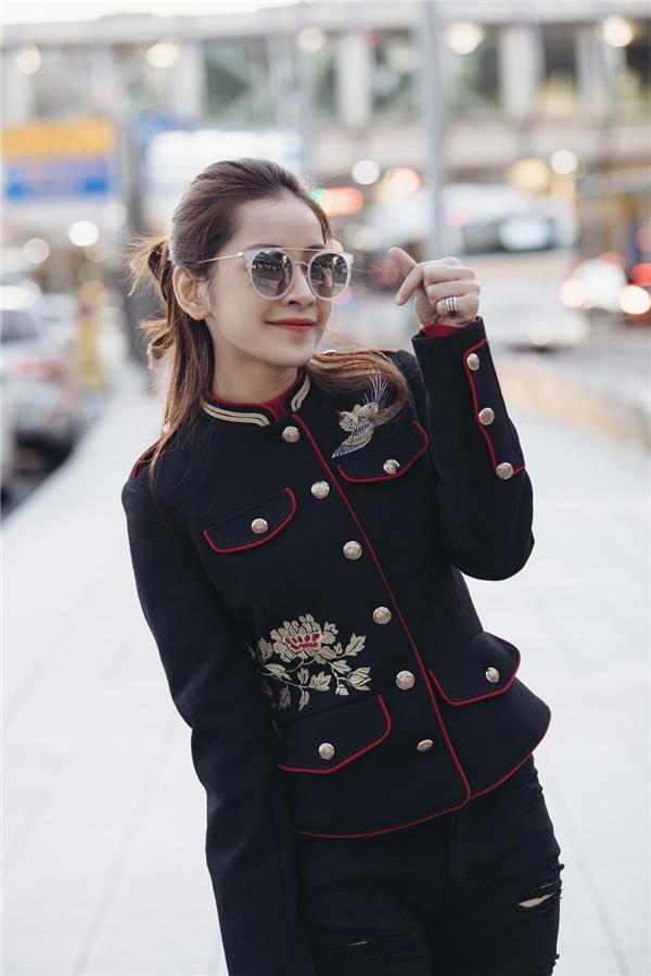 Chi Pu sành điệu, được Á hậu tiếp đón nồng nhiệt khi vừa đến Hàn Quốc - Tin sao Viet - Tin tuc sao Viet - Scandal sao Viet - Tin tuc cua Sao - Tin cua Sao