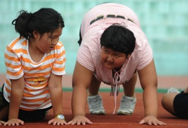 Dự kiến đến năm 2025 sẽ có 48,5 triệu trẻ em thừa cân tại Trung Quốc.