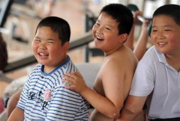 Nhiều chuyên gia tỏ ra cực kì lo ngại trước tình trạng trẻ em béo phí ngày một tăng ở Trung Quốc.