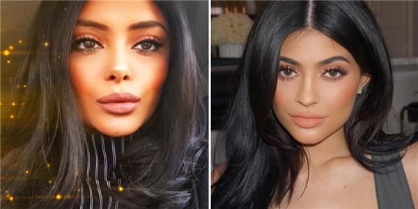 """Và giờ đây, """"Padma Patil"""" năm nào bấtchợt cực giống Kylie Jenner (phải).(Ảnh: Internet)"""