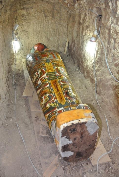 Ngôi mộ được cho là thuộc về dòng dõi quý tộcAmenrenef.