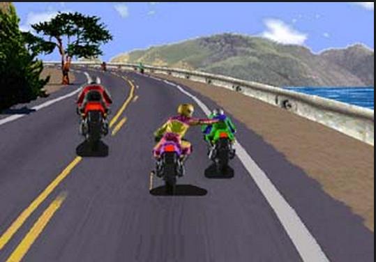 """Cách chơi trò này rất đơn giản: đua xe không lo đua xe, lo """"đâm bị thóc, chọc bị gạo"""" và """"hành hung"""" cảnh sát giao thông!(Ảnh: Internet)"""