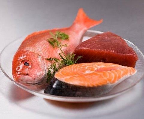 Cá có nhiềuaxit béo omega 3. (Ảnh: internet)