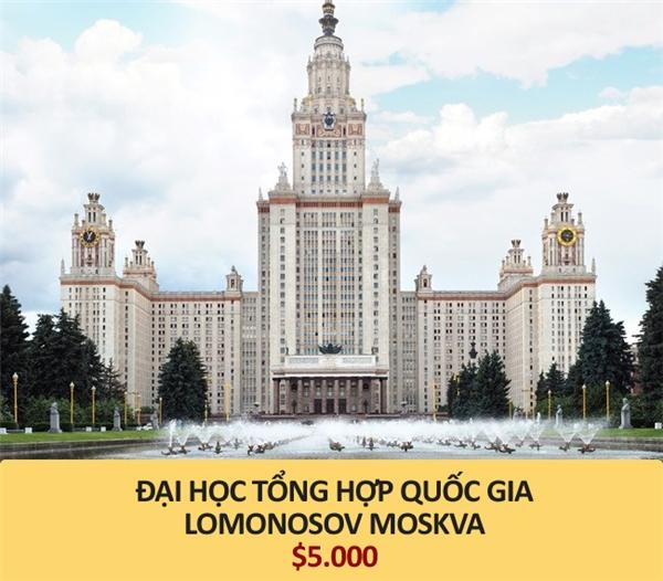 Hơn 111 triệu đồng (Moscow, Nga)