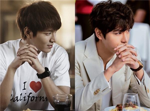 """Hình ảnh """"nhá hàng"""" đầu tiên của Heo Joon Jae giống hệt như khi Kim Tan đang mải đắm chìm vào người bên cạnh trong The Heirs. Ngoại trừ tính cách, vẻ ngoài và phong thái của hai nhân vật này giống nhau đến tận 90%."""