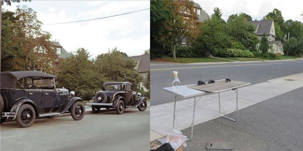 Ai mà ngờ được xe đẹp thế kia hóa ra chỉ là mô hình đồ chơi.