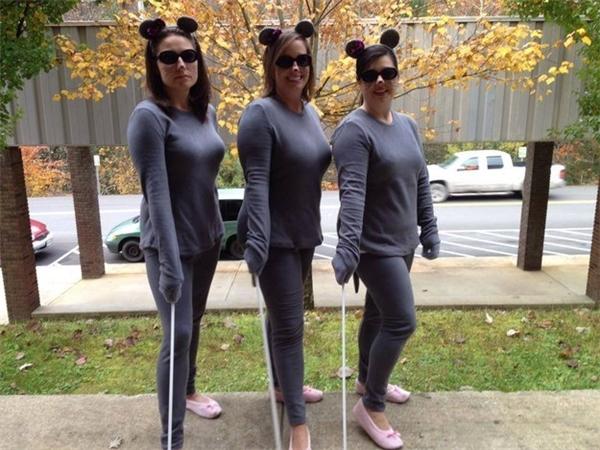 """Khó học sinh nào có thể bỏ qua """"ba cô chuột"""" đáng yêu này."""
