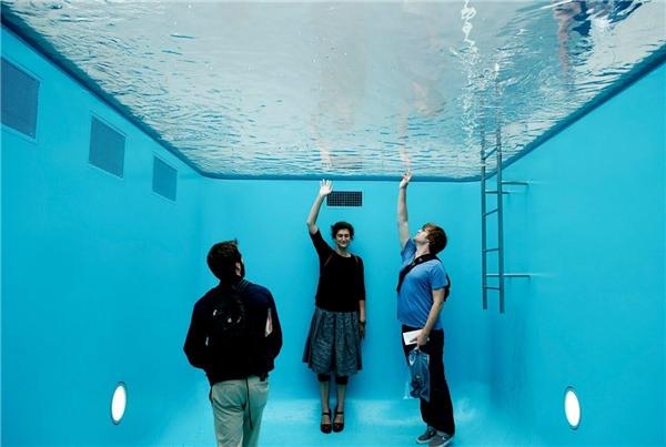 Bể bơi này thực sự là một nơi để chụp những bức ảnh độc đáo và thú vị. (Ảnh: internet)
