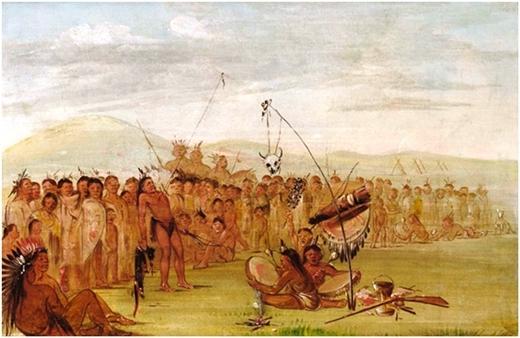 """""""Rùng mình"""" với 7 nghi thức trưởng thành của thổ dân"""