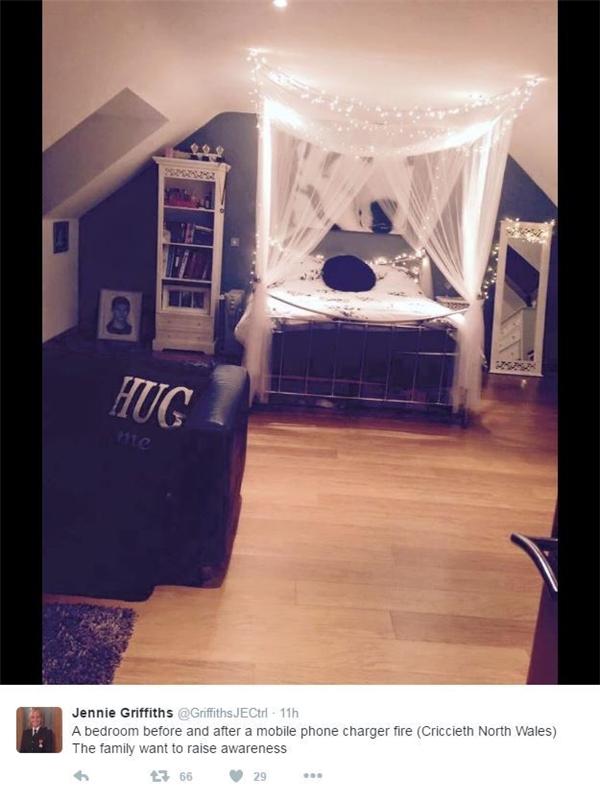 Căn phòng ngủ ấm áp ngày nào...