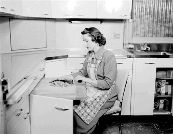 Bỏ túi những thiết kế nhà bếp độc đáo từ thập niên 50