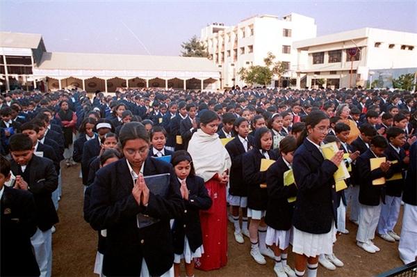 CMS được đánh giá là trường học tốt nhất Ấn Độ.