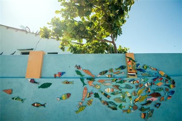 Bức tranh thiên nhiên giữa lòng biển xanh.