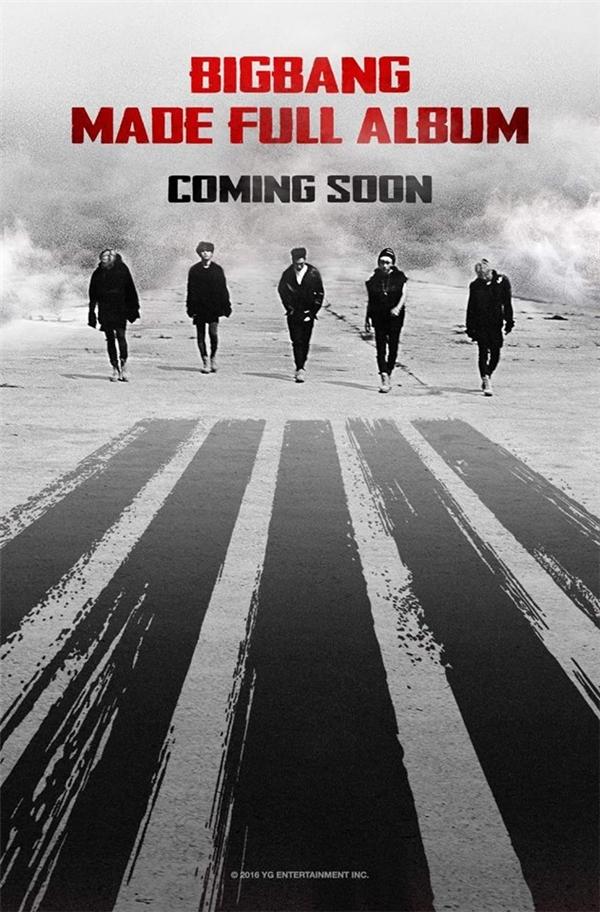 Như vậy là album MADE sẽ được phát hành như một full album vào tháng 12 này.