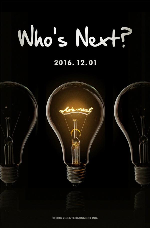 """Ngay khi câu hỏi """"Who is next?"""" cùng với ngày tháng là 01/12/2016 được đăng tải, nhiều fans đã liệt kê ra hàng loạt những cái tên sẽ xuất hiện sắp tới."""