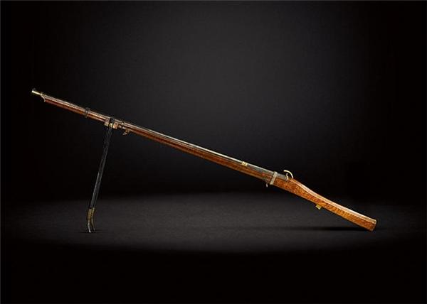 Khẩu súng săn được coi là báu vật của đất nước Trung quốc.