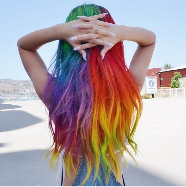 Những màu tóc nhuộm chỉ dành riêng cho hội chất phát ngất