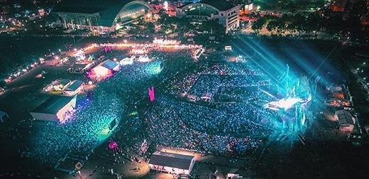 Quy mô hoành tráng của đại tiệc âm nhạcYAN Beatfest.