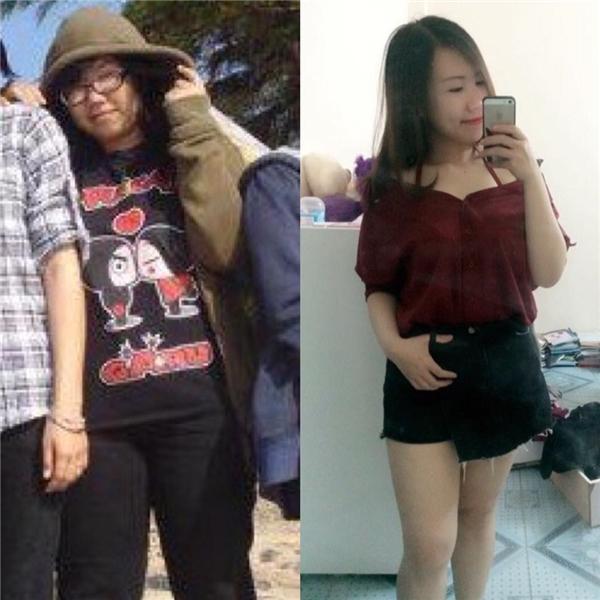 Đã bao giờ bạn hình dung ngày bạn 80kg và ngày mà cơ thể chỉ còn 53,5kg? Và đây, cô gái ấy đã khiến bạn bè và mọi người phải ngạc nhiên vô cùng về sự thay đổi ngoạn mục này.(Ảnh: Internet)