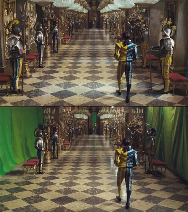 """Nội thất bên trong cung điện cũng được """"làm giả"""" nốt!"""