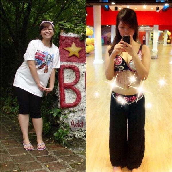Cơ thể của bạn ấy sau khi giảm thành công 20kg. Thực sự đáng ngưỡng mộ vô cùng đúng không?(Ảnh: Internet)