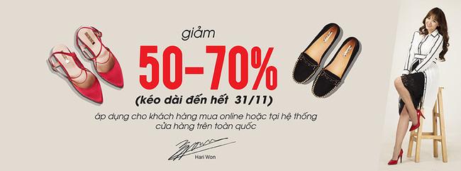 Rộ tin đồn thương hiệu giày của Hari Won bị nhân viên tố nợ lương? - Tin sao Viet - Tin tuc sao Viet - Scandal sao Viet - Tin tuc cua Sao - Tin cua Sao