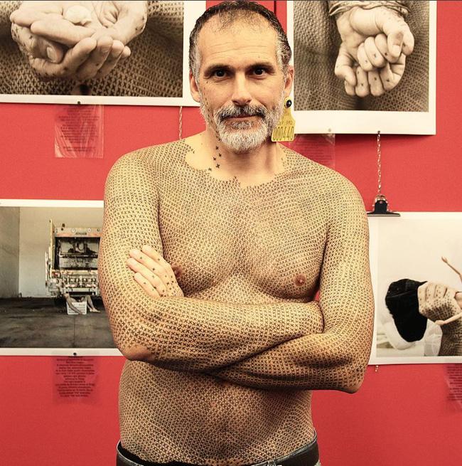 Ông Alfredo Meschi là nhà hoạt động tuyên truyền cho chiến dịch ăn chay.