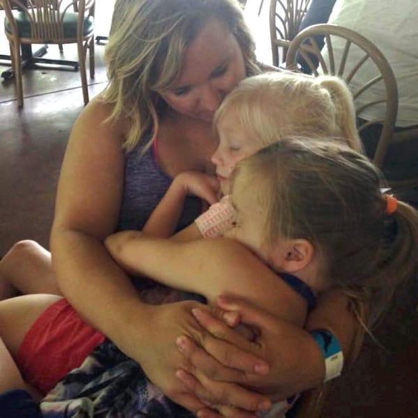 Jessicađang sống hạnh phúc cùng các con của mình.