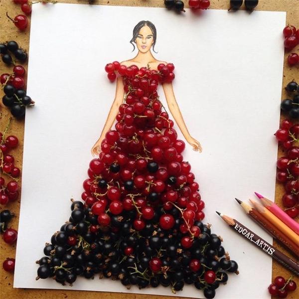 Một chiếc váydạ hội không thể hoàn hảo hơn.