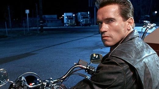 """Kẻ hủy diệt"" Arnold Schwarzenegger."
