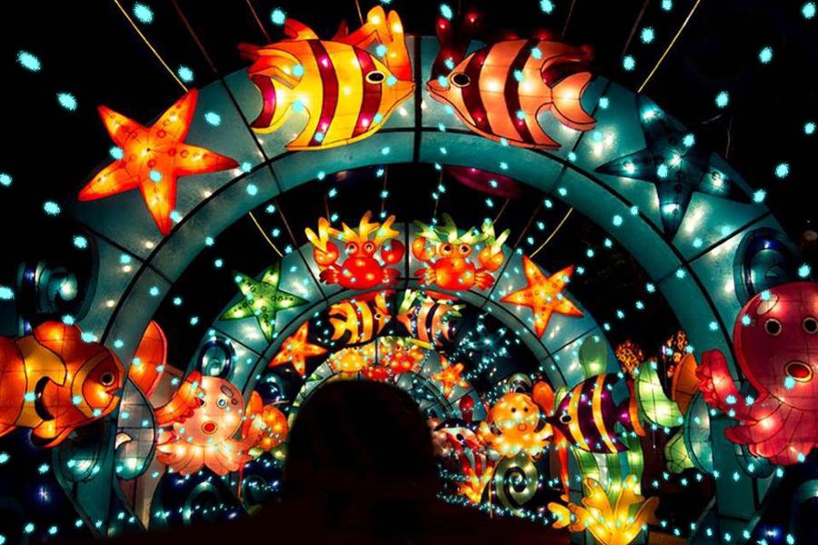 Lễ hội đèn lồng khổng lồ lần đầu tiên xuất hiện tại Việt Nam sẽ kéo dài trong 51 ngày!