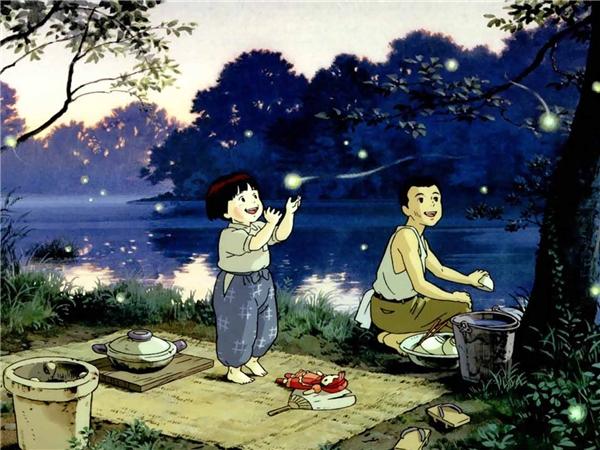 Mộ đom đóm là câu chuyện đãm nước mắt vềhai anh em SeitavàSetsuko.