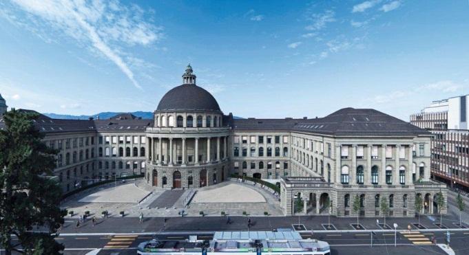 Học viện công nghệ liên bang Zurich,Thụy Sỹ ở vị trí thứ 9.