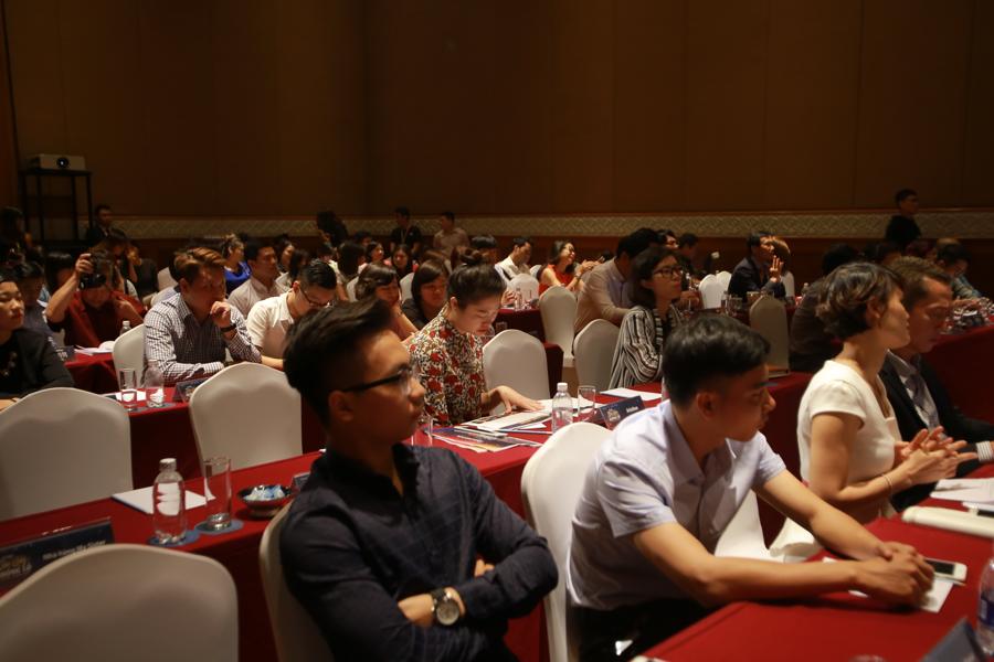 Buổi họp báo có sự tham gia của các đơn vị truyền thông, báo chí hàng đầu Việt Nam.