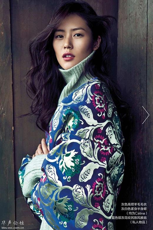 Siêu mẫu Quốc tế Liu Wen và Hoa hậu Lan Khuê đều là người có gò má cao. Không những vận khí tốtmà con đường sự nghiệp ngày càng phát triển