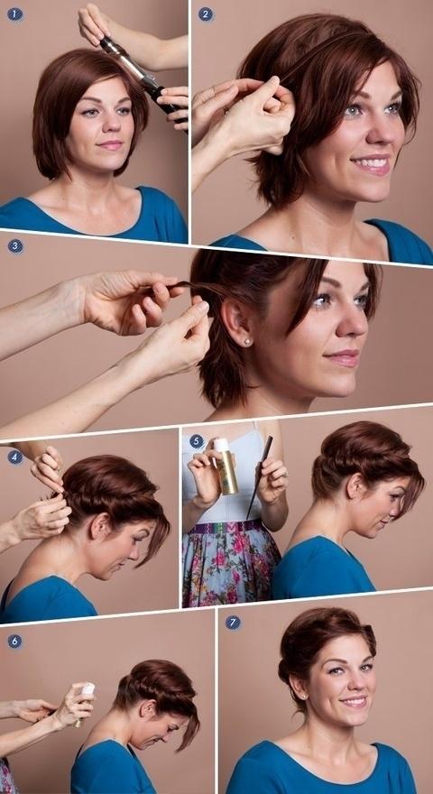 """Nét nhấn nhá bên tóc sẽ khiến mái tóc búi trở nên trông bớt """"dừ"""" hẳn."""