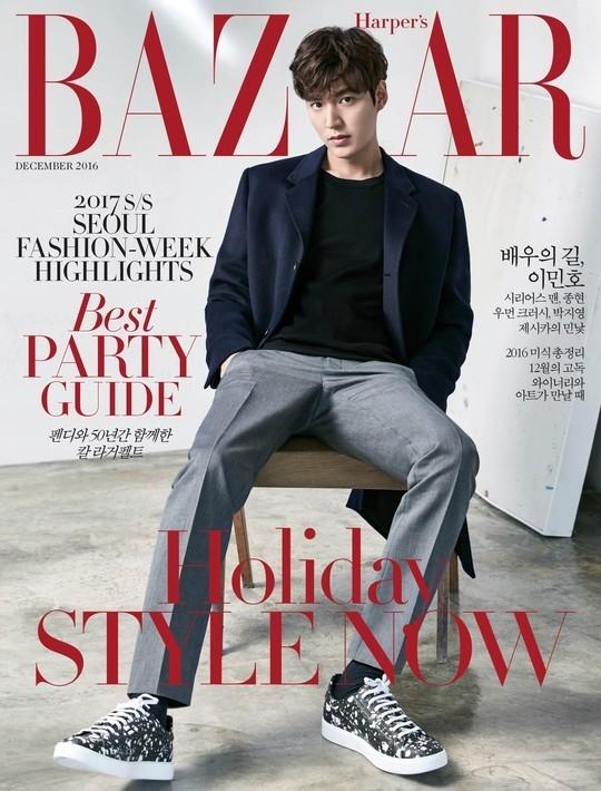 Ngất ngây với loạt ảnh mới của kẻ lừa đảo Lee Min Ho trên tạp chí