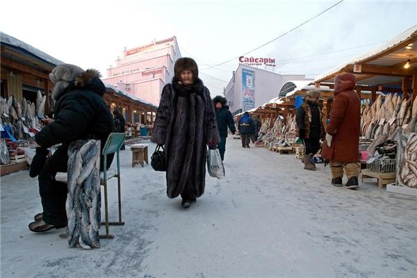 Yakutsk là thành phố lạnh nhất thế giới.
