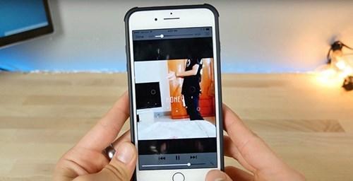 Đoạn video lạ khiến bất kì iPhone bị tê liệt. (Ảnh: internet)
